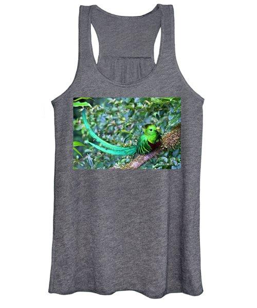 Beautiful Quetzal 3 Women's Tank Top