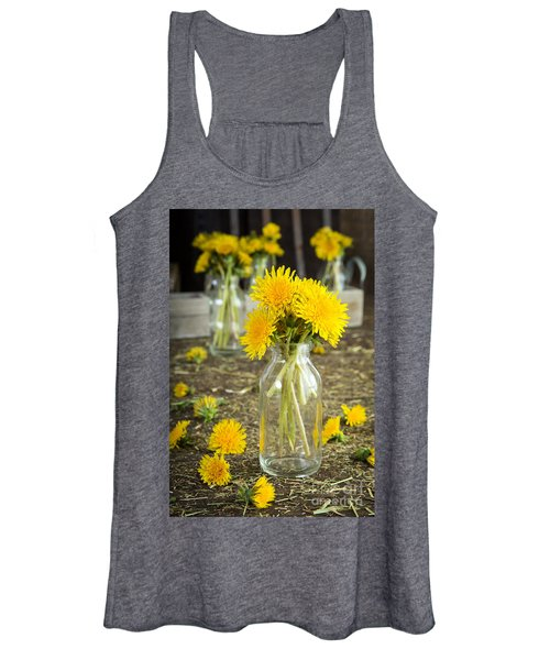 Beauty Among The Weeds Women's Tank Top