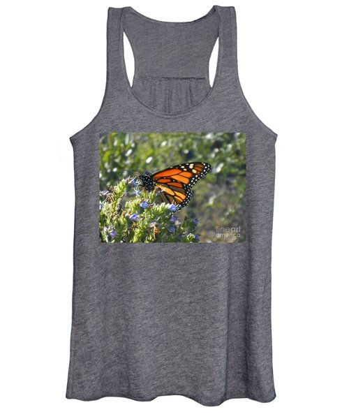 Bee And Monarch  Women's Tank Top
