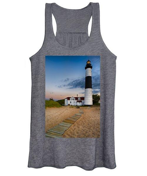 Big Sable Point Lighthouse Women's Tank Top