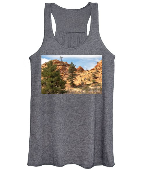 Bighorn Sheep On A Ridge Women's Tank Top