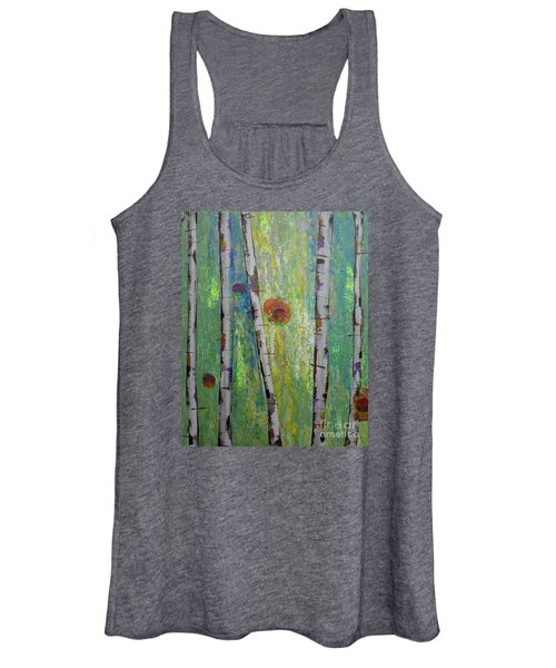 Birch - Lt. Green 5 Women's Tank Top