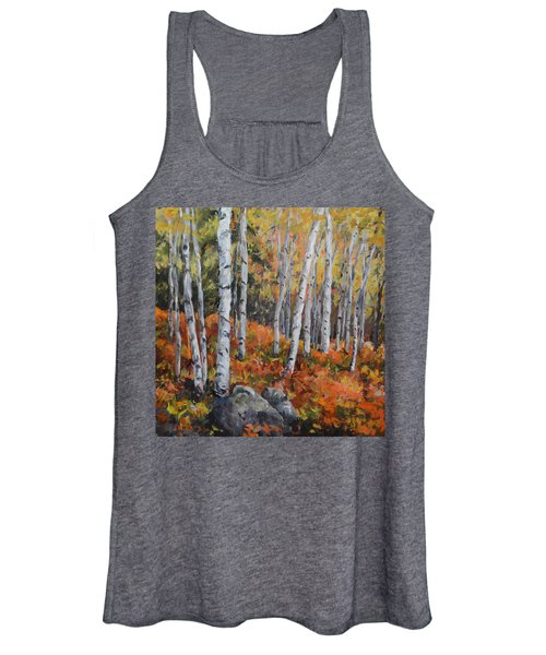 Birch Trees Women's Tank Top