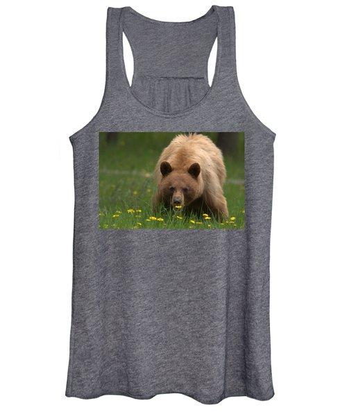 Black Bear Women's Tank Top