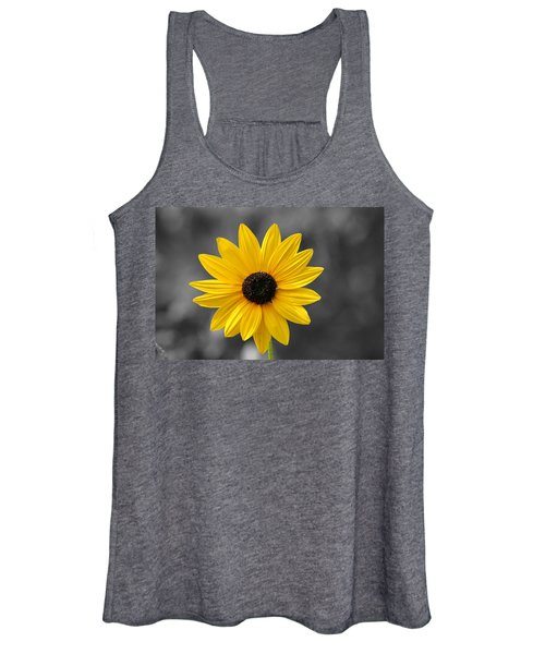 Women's Tank Top featuring the photograph Black Eyed Susan by Pete Federico