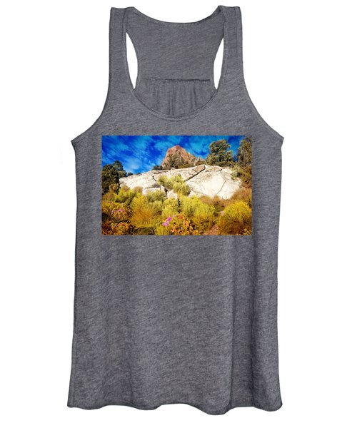 Blooming Nevada Desert Near Ely Women's Tank Top