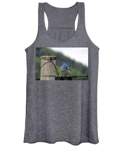Blue Bird Women's Tank Top