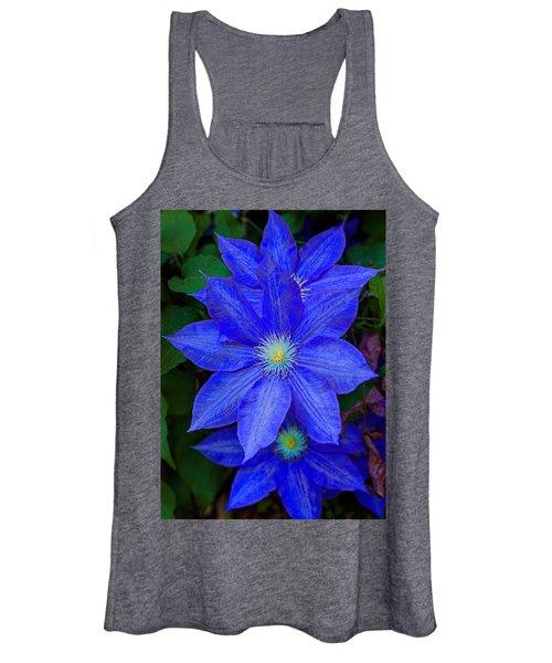 Blue On Blue Women's Tank Top