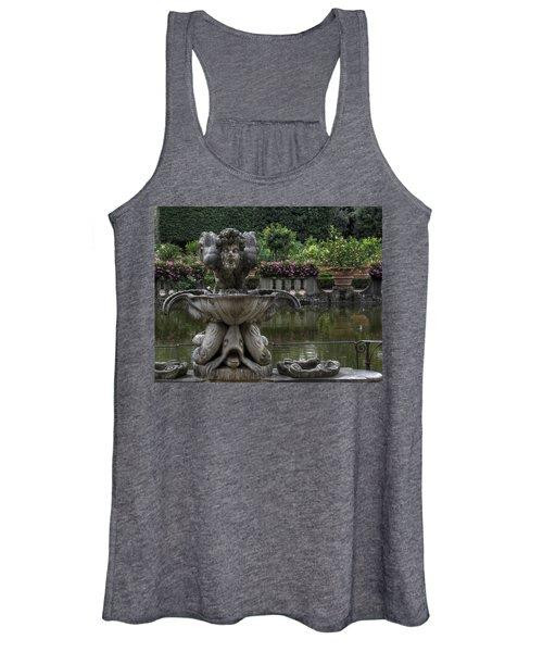 Boboli Fountain Women's Tank Top