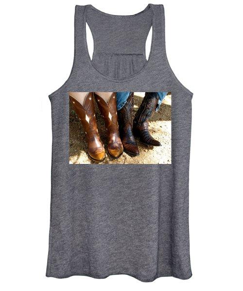 Boots Women's Tank Top