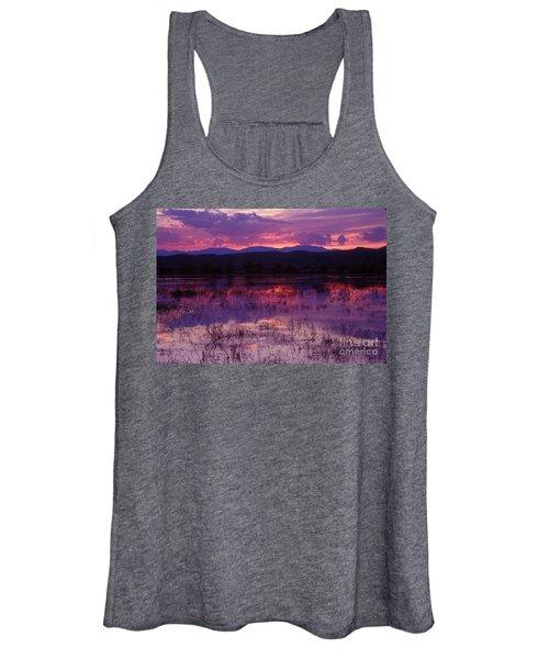 Bosque Sunset - Purple Women's Tank Top