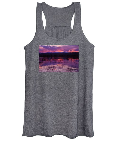 Bosque Sunset - Purple Women's Tank Top