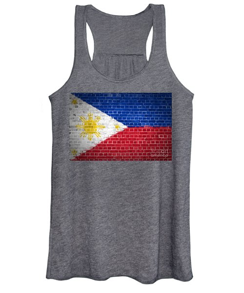 Brick Wall Philippines Women's Tank Top