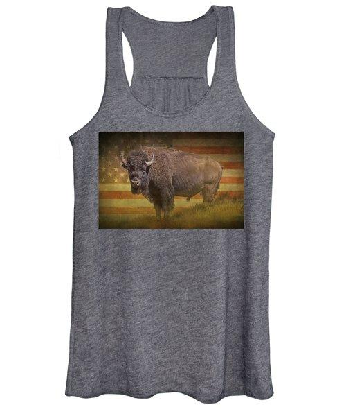 Buffalo American Icon Women's Tank Top