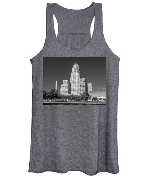 Buffalo City Hall 0519b Women's Tank Top