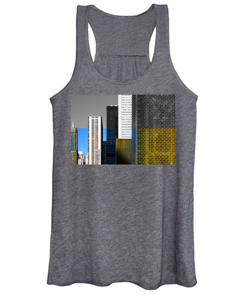 Building Blocks Cityscape Women's Tank Top