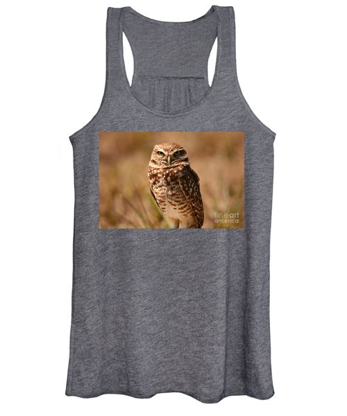 Burrowing Owl Impressions Women's Tank Top