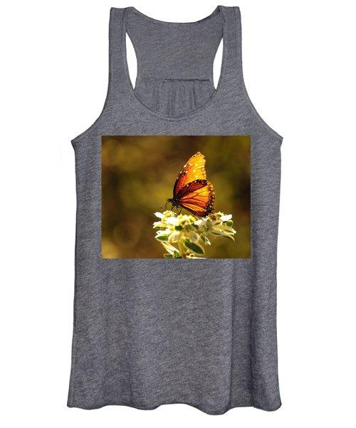 Butterfly In Sun Women's Tank Top