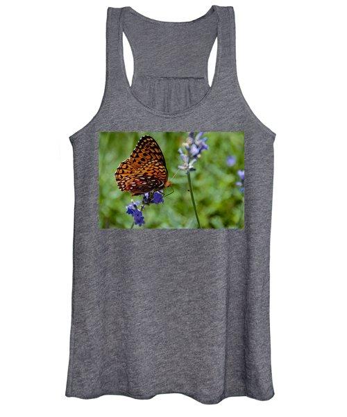 Butterfly Visit Women's Tank Top