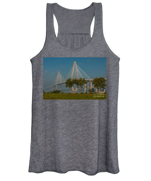 Cable Stayed Bridge Women's Tank Top