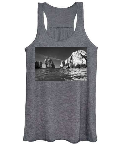 Cabo In Black And White Women's Tank Top