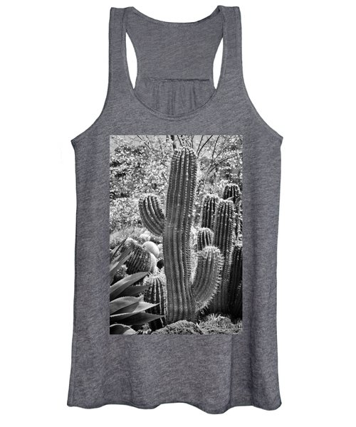 Cacti Habitat Bw Women's Tank Top