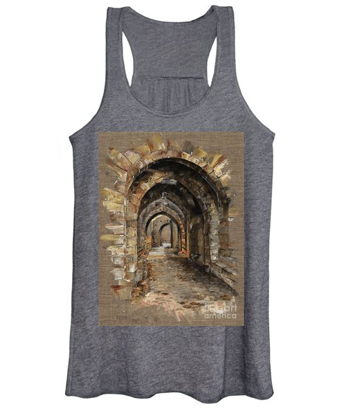 Camelot -  The Way To Ancient Times - Elena Yakubovich Women's Tank Top