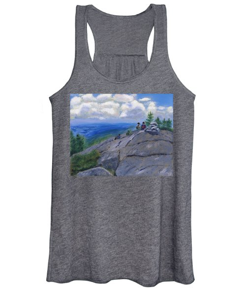 Campers On Mount Percival Women's Tank Top