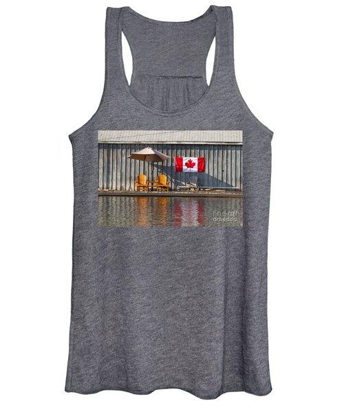 Canada Day In Muskoka Women's Tank Top