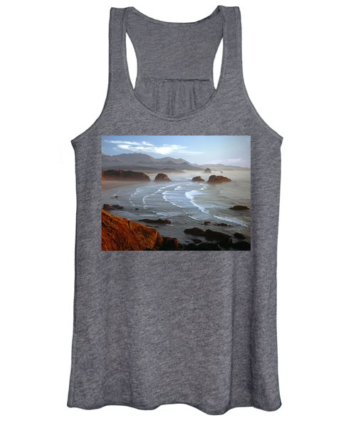 Cannon Beach At Sunset Women's Tank Top