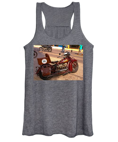 Cannonball Indian #115 Women's Tank Top