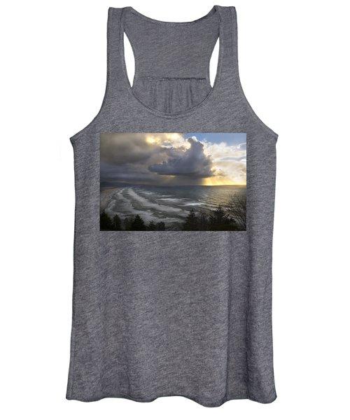 Sunset At Cape Lookout Oregon Coast Women's Tank Top