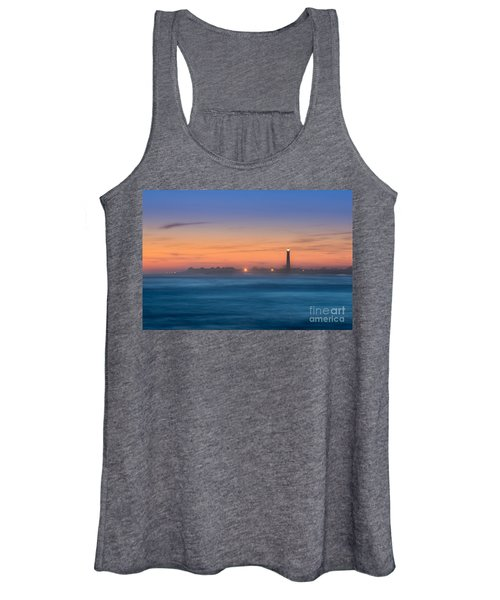 Cape May Lighthouse Sunset Women's Tank Top