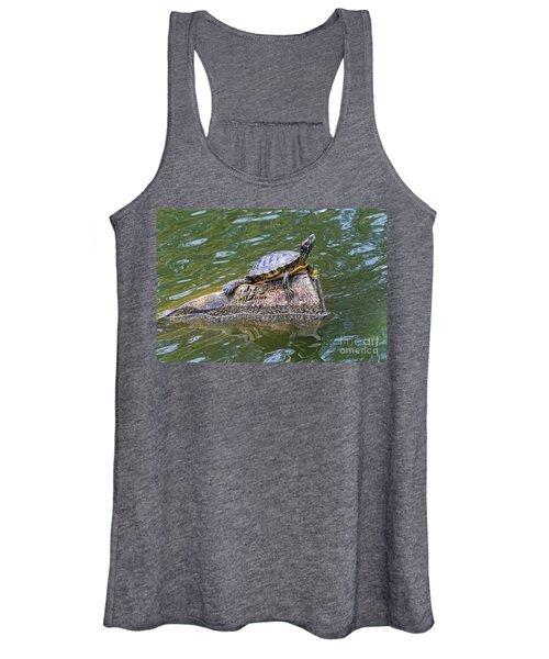 Captain Turtle Women's Tank Top