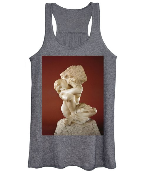 Caryatid With A Stone, 1881-82 Marble Women's Tank Top