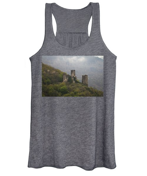 Castle In The Mountains. Women's Tank Top