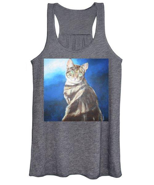 Cat Profile Women's Tank Top