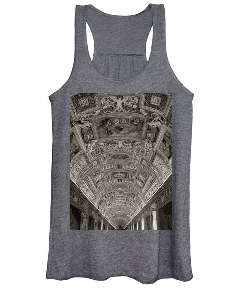 Ceiling Of Hall Of Maps Women's Tank Top