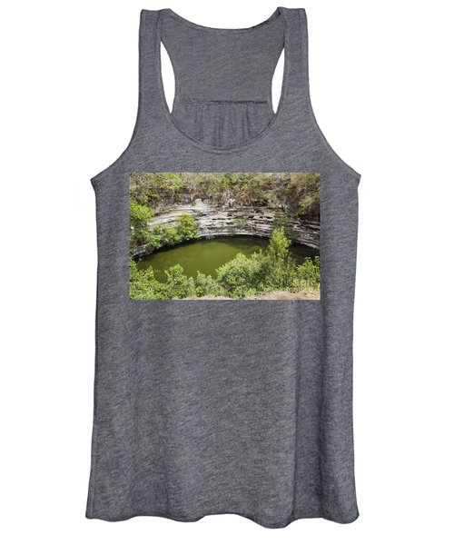 Cenote Sagrado At Chichen Itza Women's Tank Top