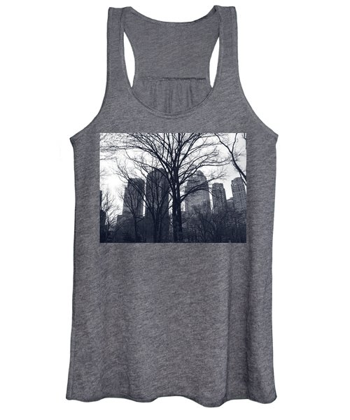 Central Park In New York Women's Tank Top