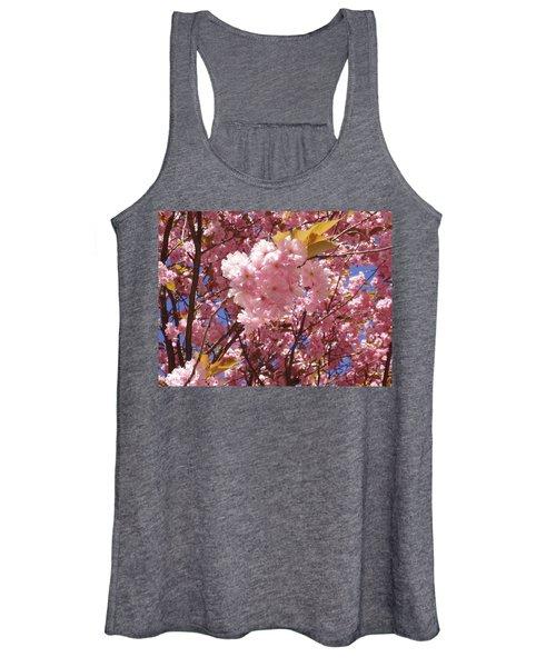 Cherry Trees Blossom Women's Tank Top