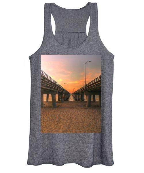 Women's Tank Top featuring the photograph Chesapeake Bay Bridge IIi  by Pete Federico