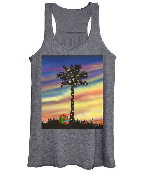 San Clemente Christmas Women's Tank Top