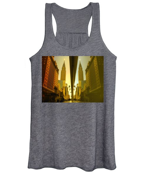 Chrysler Reflection On 42nd Street Women's Tank Top