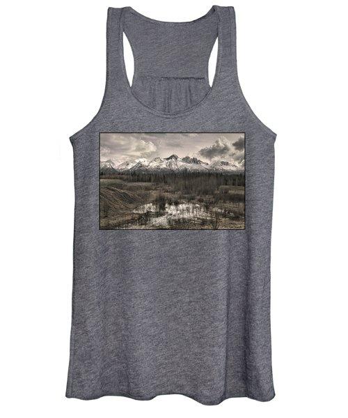 Chugach Mountain Range Women's Tank Top