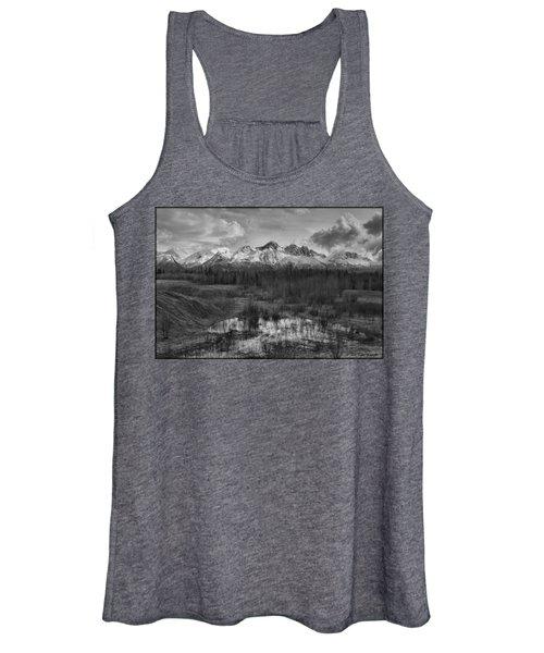 Chugach Mtn Range Women's Tank Top