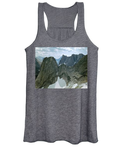 209615-cirque Of Towers, Wind Rivers, Wy Women's Tank Top