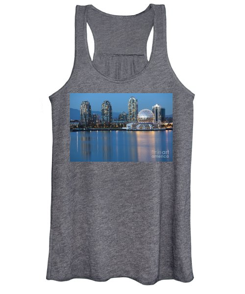 City Skyline -vancouver B.c. Women's Tank Top