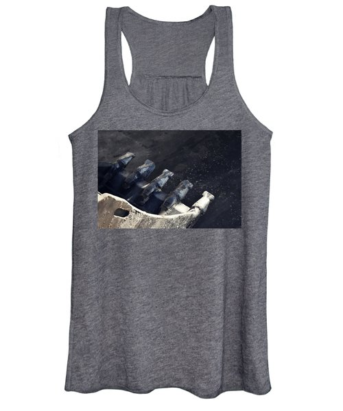 Claw - Industrial Photography By Sharon Cummings Women's Tank Top