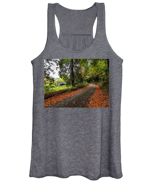 Women's Tank Top featuring the photograph Clondegad Country Road by James Truett